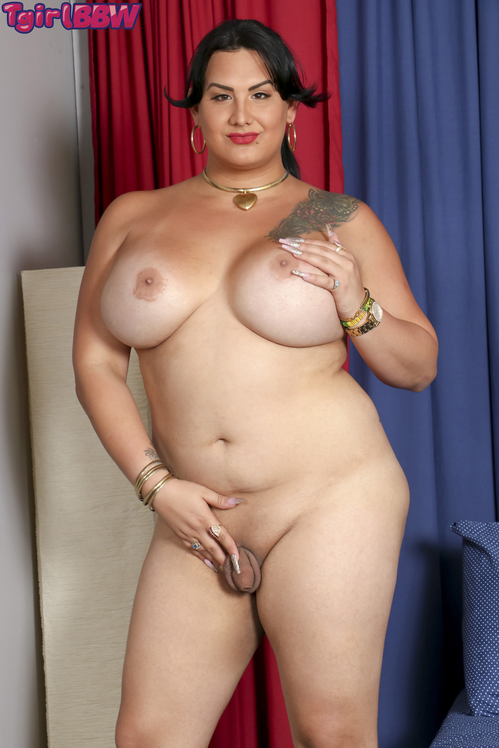 Shemale fat cock