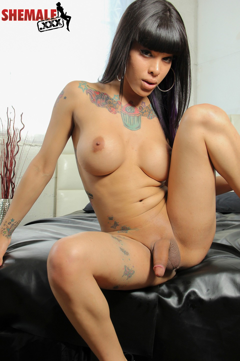 Sexy Shemale Adriana Lynn Rush Mouth And Ass Fucking