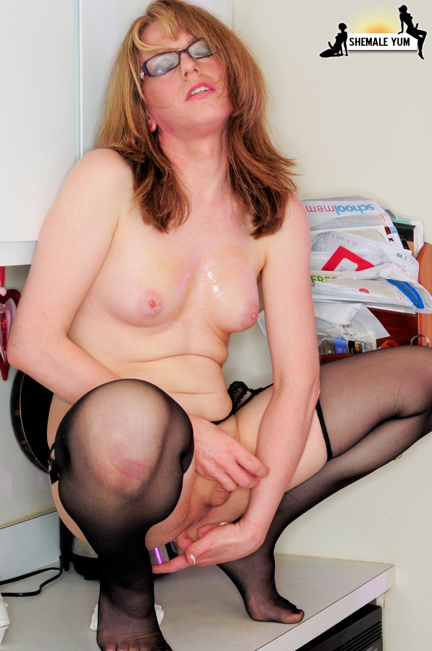 Cum shot transsexual